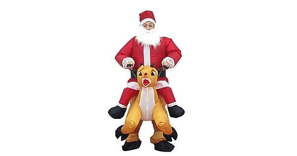 Amazon.com: Tiakino traje de Navidad, vestido inflable de ...