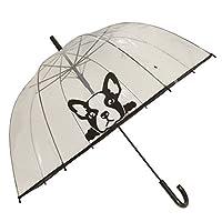 X-brella Womens/Ladies Clear Dog Umbrella (One Size) (French Bulldog)