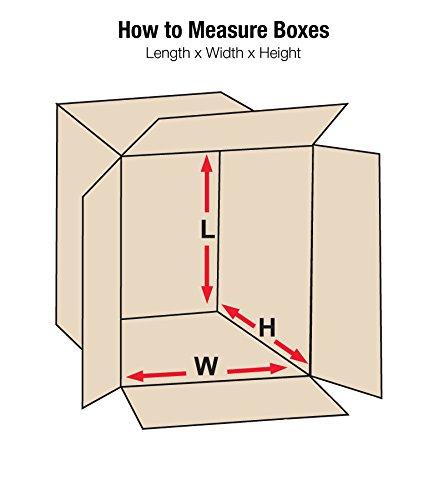 Bundle of 25 211010 Kraft 21 L x 10 W x 10 H Aviditi Single-Wall Corrugated Box