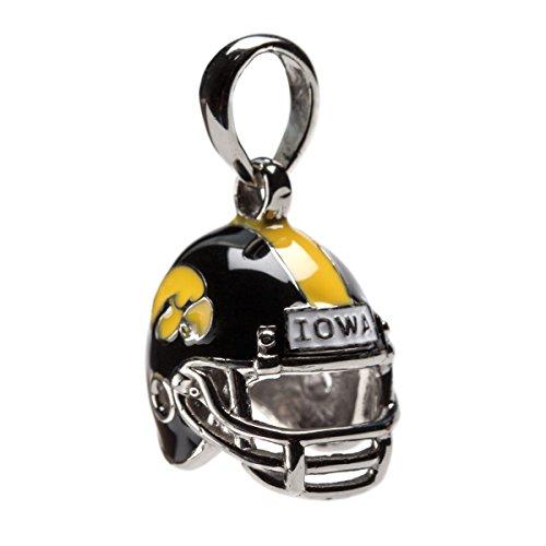 Stone Armory University of Iowa Hawkeyes Dangle Football Helmet Bead Charm