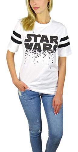 Star Wars Logo Varsity Football Tee