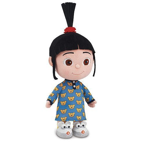 Despicable Me Electronic Talking Agnes Plush Soft Stuffed Doll Bedtime-Lights Up (Doll Agnes)