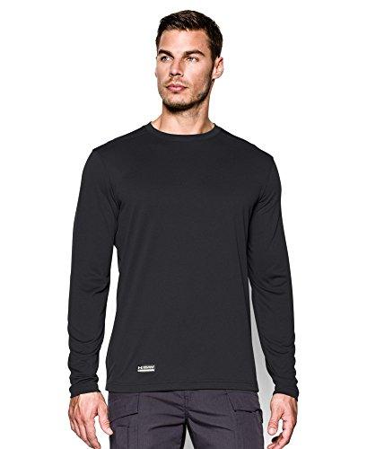 Under Armour Men's Tactical UA Tech Long Sleeve T-Shirt, Black/None, XX-Large