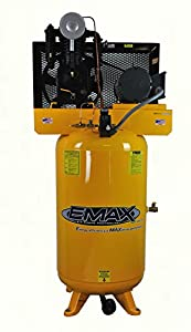 EMAX Compressor EP05V080I1 Premium Series 5 hp 80 gallon Vertical 2-Stage 1-Phase 2-Cylinder Piston Air Compressor from EMAX Compressor
