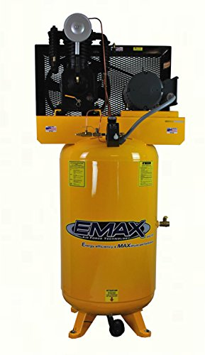 EMAX Compressor EP05V080I1 Vertical 2 Cylinder product image