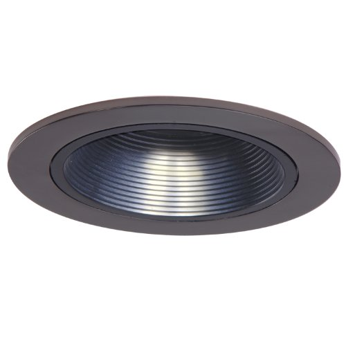 Cooper Lighting Halo Recessed 1493TBZ 4-Inch Trim with Bl...