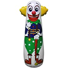 Inflatable Clown Punching Bag, 54""