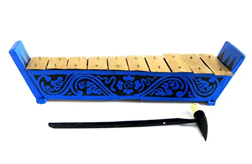 Meditation Chime Xylophone Percussion Energy Chimes Wooden Xylophone, Handpainted - JIVE BRAND by Jive