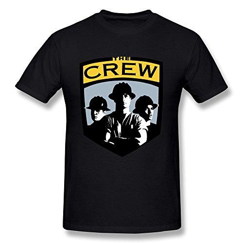 Llangla Mens Columbus Crew Old Logo T Shirt Xl