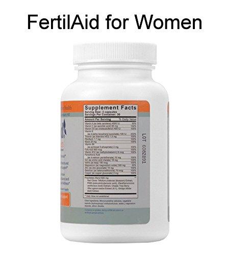 Fertility Supplement Bundle for Women - 1 Month Supply of Fertilaid, FertileCM, Fertilitea, Wondfo Ovulation Tests and Pregnancy Tests by Baby Hopes (Image #2)