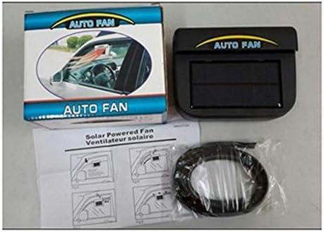 Peanutaso 0.8W Solar Powered Auto Auto Cooler Ventilador ...