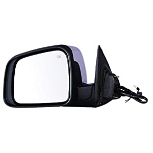 Depo 334-5425L3ECH Driver Side Mirror (Dodge Durango 11-15 Power Heat W/ Signal W/ Memory W/O Blind Spot Detection (Chrome)