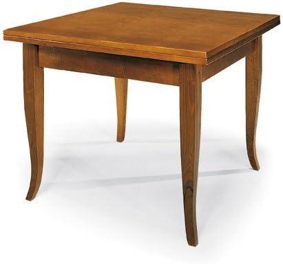 Tavoli Da Cucina Allungabili Classici.Lo Scrigno Arredamenti Tavolo Quadrato Allungabile A Libro