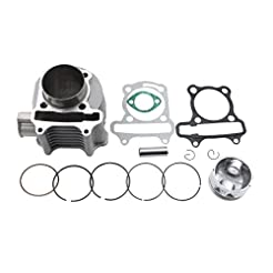 GOOFIT 57.4mm Bore Cylinder Kit with Pis...