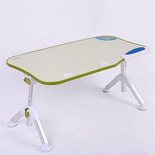 Muzyo Simple Laptop Table Student Dorm Computer Desk Folding Simple Bed Small Table, 3 by Muzyo