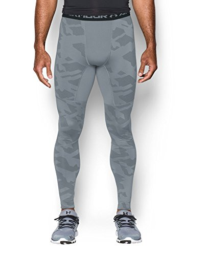 Under Armour Men's ColdGear Armour Jacquard Compression Leggings