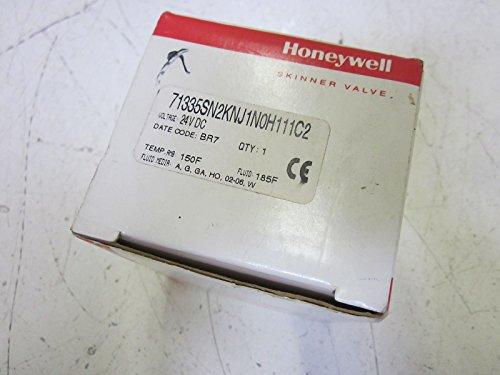 Honeywell Skinner Valve - HONEYWELL 71335SN2KNJ1N0H111C2 SOLENOID SKINNER VALVE 24VDCNEW IN BOX