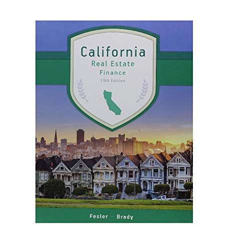 California Real Estate Finance (Best Real Estate License Course California)