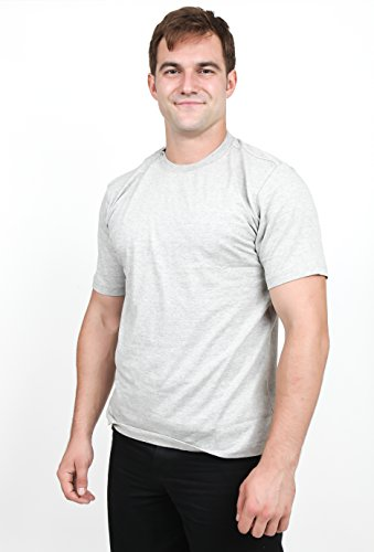 Utopia Wear Men's Short Sleeve Cotton Crew Ne...