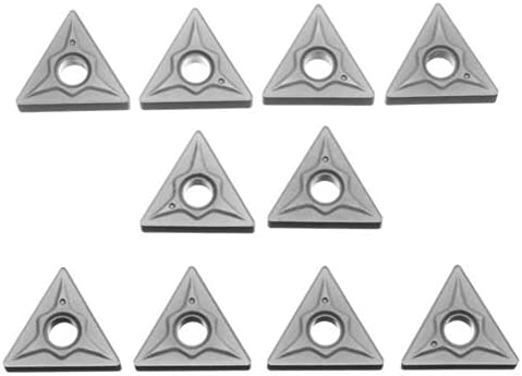 Schnelle Installation von Hartmetall-Klingen 10 Karbid-Einsätze for Werkzeughalter Drehen, TNMG220408-TF IC907 TNMG432-TF