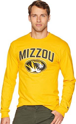 - Champion College Men's Missouri Tigers Long Sleeve Jersey Tee Champion Gold Medium