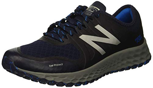 New Balance Men's Kaymin V1 Fresh Foam Trail Running Shoe Pigment/Laser Blue 1.5 D US by New Balance (Image #1)