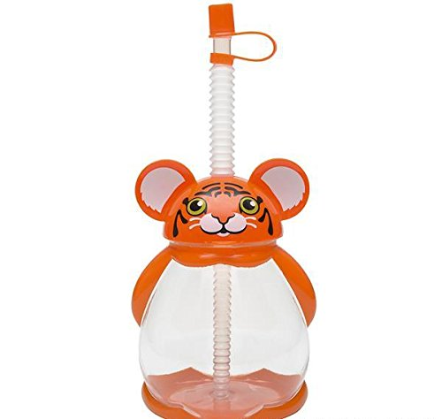 16oz TIGER SIPPY CUP, Case of 150 by DollarItemDirect