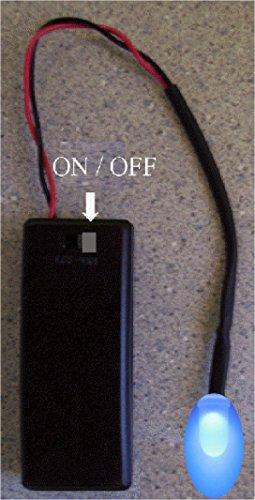 blue flashing led auto theft deterrent fake car alarm. Black Bedroom Furniture Sets. Home Design Ideas
