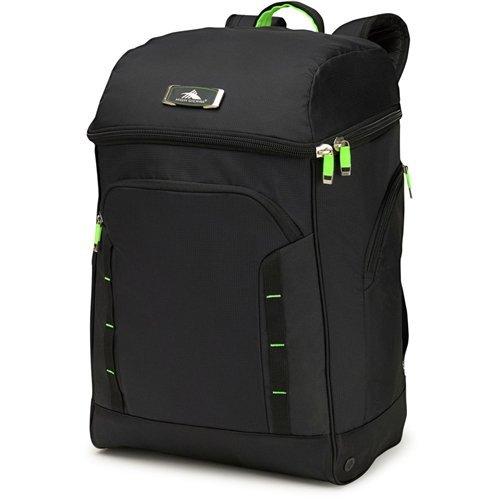 High Sierra Deluxe Bucket Boot Bag, Black/Zest