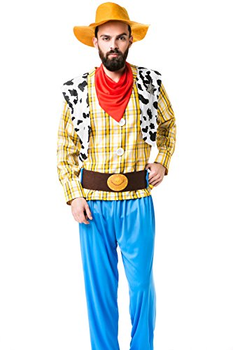 Adult Men Western Sheriff Costume