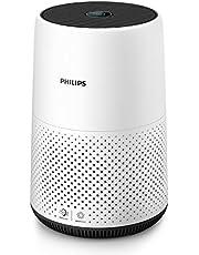 Philips Luftrenare serie 800 - Lämplig för rum upp till 49 m2 - Kompakt storlek - Färgindikering av luftkvaliteten i realtid - Viloläge - Automatiskt luftreningsläge - CADR 190 m3 / h - AC0820/10