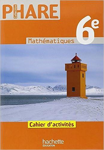 Livre Mathématiques 6e : Cahier d'activités pdf, epub ebook