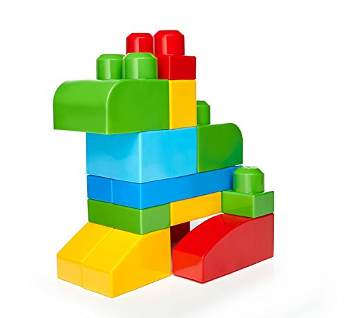 photo Wallpaper of Mega Bloks-Mega Bloks 80 Piece Big Building-Blue