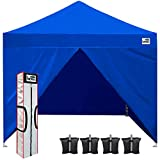 Eurmax 10 x 10 Pop up Canopy Commercial Tent Outdoor Party Shelter
