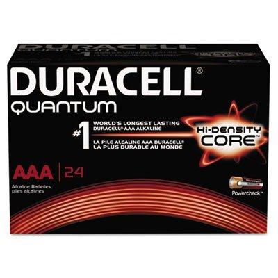 Quantum Alkaline Batteries with Duralock Power Preserve Technology, AAA, 24/Box