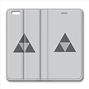 iPhone 6 Plus Case, Hot Sale Triforce The Legend Of Zelda Protective PU Leather Flip Case [Stand Feature] Cover for New Apple iPhone 6 Plus(5.5 inch) Only by Maris's Diary