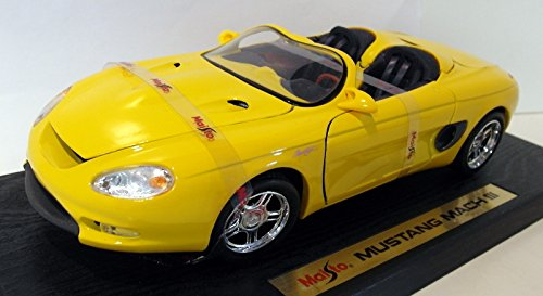 Maisto 1/18 scale Maisto Diecast - 1/18 31815 Ford Mustang - Mach III Yellow B01C6ME24E, CosmeRafio:c54c1386 --- cognitivebots.ai