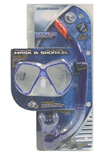 2PC Mask & Snorkel by Aqua Leisure B012662F9Y