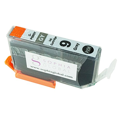 Sophia Global Compatible Ink Cartridge Replacement for PGI-9 (1 Gray)