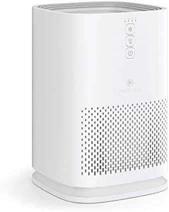 Medify Air MA-14-W1 Air Purifier with H13 HEPA filter – a higher grade of HEPA for 200 Sq. Ft. (99.9%) Allergies, dust, Pollen, Perfect for Office, bedrooms, dorms and Nurseries (1-Pack, White)