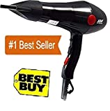 HANA Professional 2000 watt Professional Hair Dryer with 2 Switch speed setting for Men and Women.