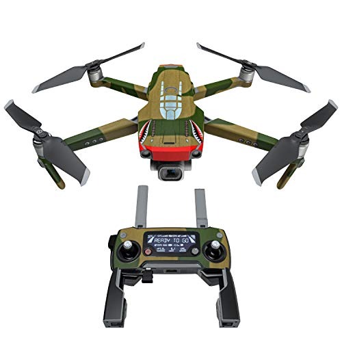 War Tiger Decal Kit for DJI Mavic 2/Zoom Drone - Includes 1 x Drone/Battery Skin + Controller Skin