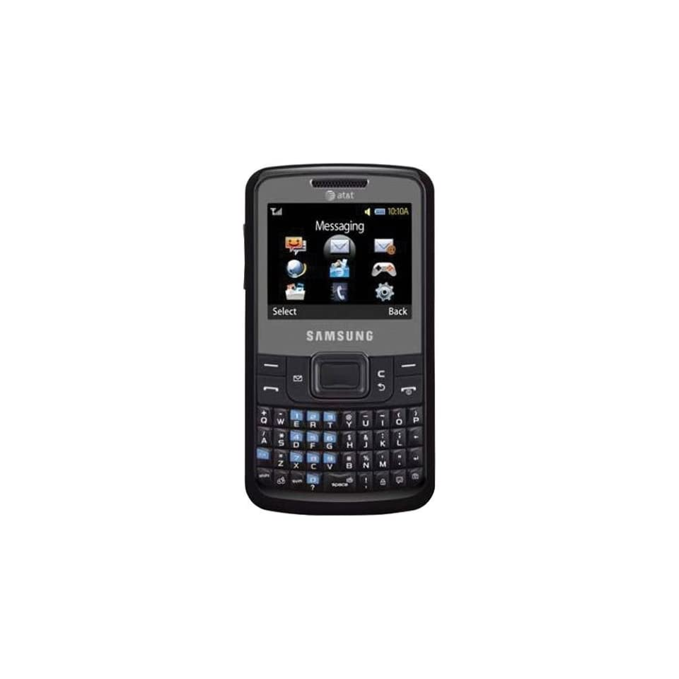 Samsung SGH A177 QWERTY GSM Black Phone Tmobile Simple Mobile