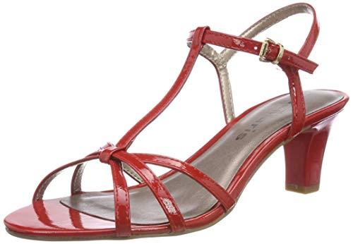 Pulsera 1 Sandalia Rojo Tamaris 28329 Patent chili Con 1 520 22 Para Mujer qYdSdwI