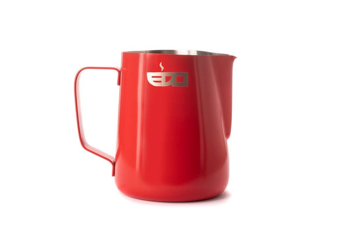 EDO Barista Coral Red Milk Steaming Jug//Pitcher 600ml 20oz
