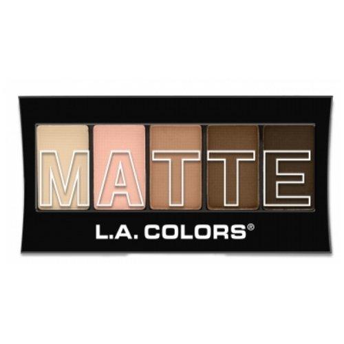 (3 Pack) L.A. Colors Matte Eyeshadow - Tan ()