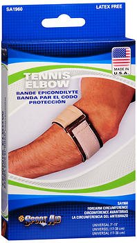 Sport Aid Tennis Elbow Band, Universal each by Sport Aid (Pack of 3) by SportAid