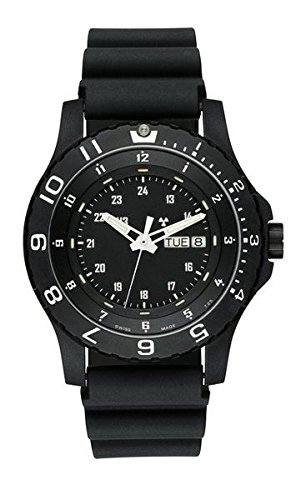 traser h3 P 6600 Type 6 MIL-G Sapphire Watch | Rubber Strap - Black