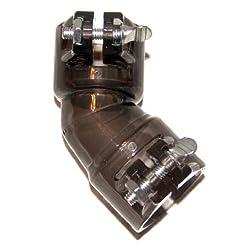 Gen-X Global Plastic Bent Elbow (SMOKE) G-179
