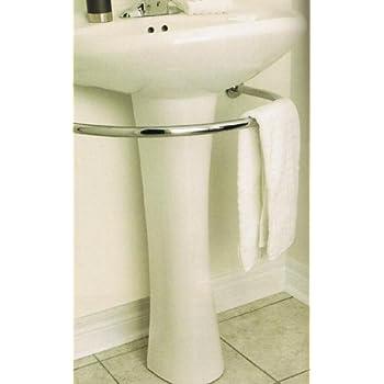 Amazon.com: Harmon PEDESTAL sink TOWEL BAR rack bath
